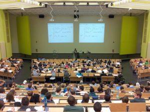 vorlesung in einer universität